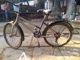Hercules MTB cycle in good condition.