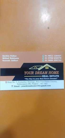 2bhk flat rent Nalasopara