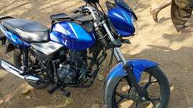 Bajaj discover 110 blue colour new condition