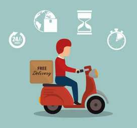 Delivery boys required for logistics company