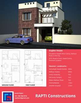 3bhk House for sale gomti nagar.