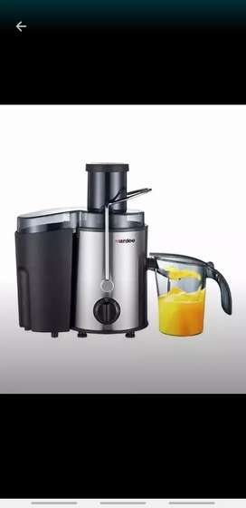 4 juicer machine with stall