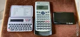 Kalkulator Casio dan AlfaLink dan powerbank VGen original semua