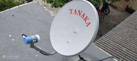 Antena parabola mini nganjuk bebas bulanan