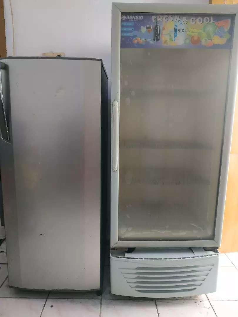 Showcase Sansio dan Freezer LG 0