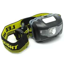 TaffLED Headlamp LED Multifunction Outdoor 3W - GD63 - Black
