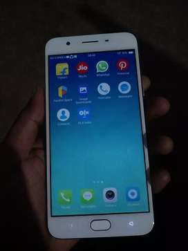 Oppo f1s 4, 64 in new condition finger print mobile 512gb expandable