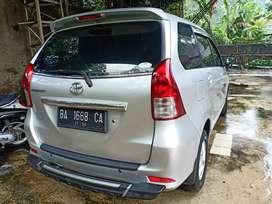 Toyota Avanza G 1.3 AIRBAG  atas nama sendiri 2014