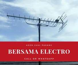 Agen toko pasang signal antena tv terpercaya