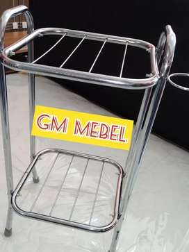 Jl Paus GM MEBEL Rak Meja Tempat Kaki Dispenser 2 Tingkat Pekanbaru