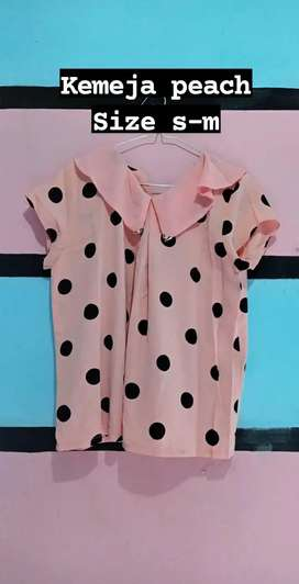 Sweet peach shirt Import