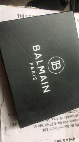 Balmain Paris leather wallets