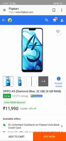 oppo A5  Like New