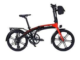SELIS elektrik folding bike SOI/501 sepeda listrik (promo)