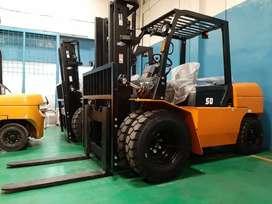 Forklift 5 ton mesin nissan jepang