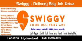Swiggy delivery boys