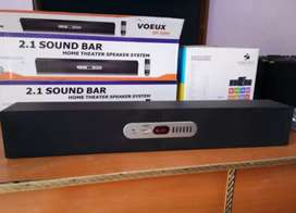 New 2.1 Sound Bar Home Theater Speaker System