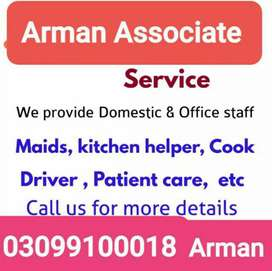 All kind Of Domestic And Office Staff is Available And Required