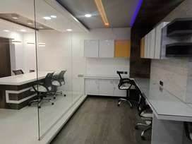 1250sq furnished Office