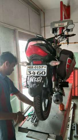 new condititon with disc brake all paper are ok.     but same raye