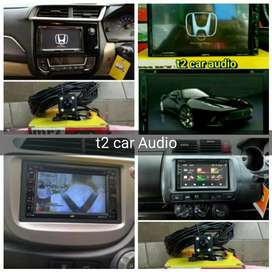 Buat jazz brio mobilio dvd 2din android link led 7inc full hd+camera