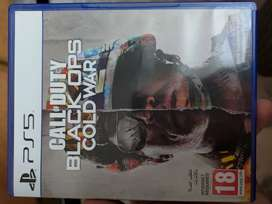 Call of duty Blackops cold war PS5 new game just opened
