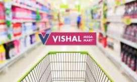 Oppening Vishal mega Mart for girls and boys
