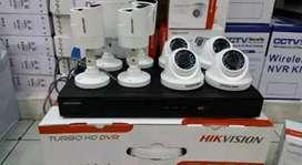 Paket kamera CCTV termurah keamanan rumah Depok sekitar pasang