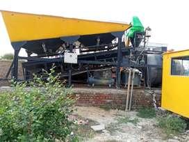 Concrete batching plant 20cum per hour