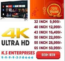 happy diwali maha sale 60% off 40 inch full smart full android led tv