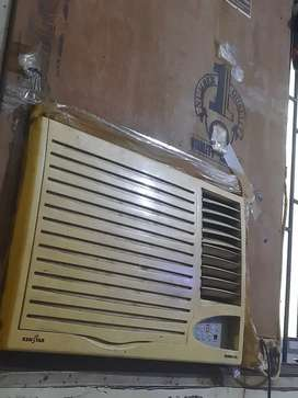 Window Ac with plywood in fine working condition