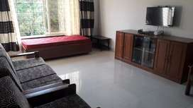 135 sq m Fully furnished Spacious 2 bhk with 2 bathrooms