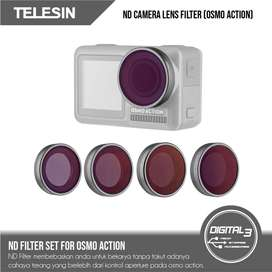 Telesin DJI Osmo Action ND Filters Set 4 Pack Filter ND 4 8 16 32
