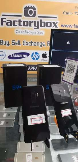 Samsung Galaxy S9 plus (6gb/64gb)( 6gb/256gb) Brand  new condition