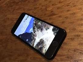 Iphone 7 black matt 128GB