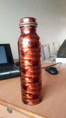 Pure copper water for good health