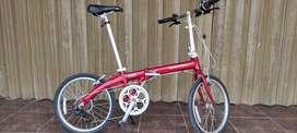 Dahon Eco C7 Merah