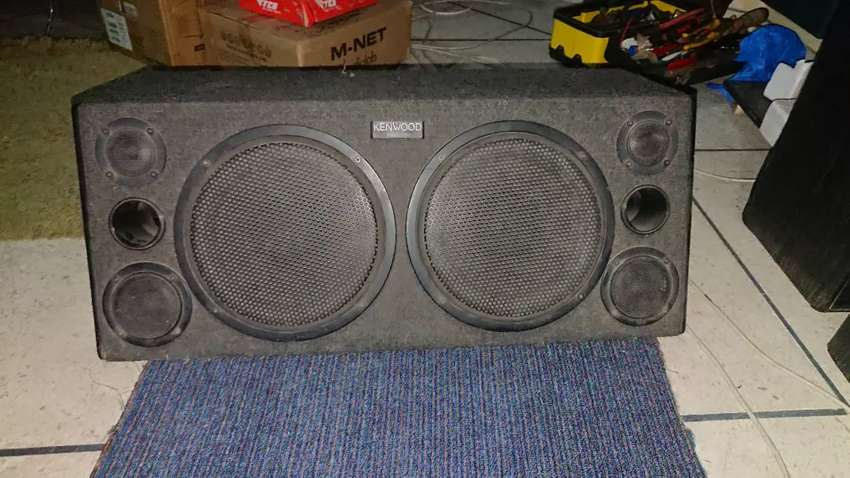 Kenwood KSC-7701 car speakers 0