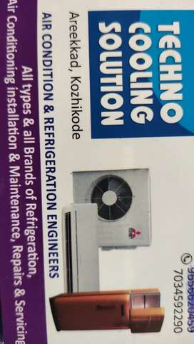 Refrigeration and air condition services and maintenance
