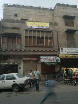4 marla 11 sq commercial building 3shops k sath