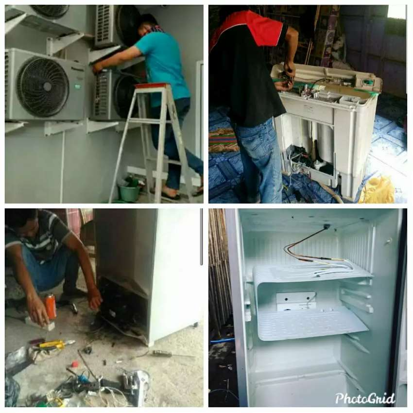 Agung Jaya Teknik service panggil Ac, Kulkas,dan Mesin cuci Bergaransi