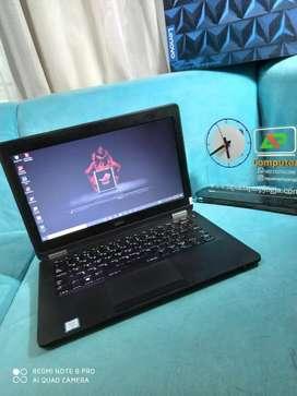 Laptop bisnis Dell Latitude Intel i5-6300 8gb Ssd 256 keybord nyala