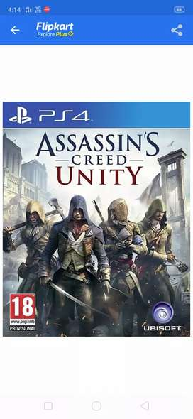 Assassin's creed unity limited edition PS4 game