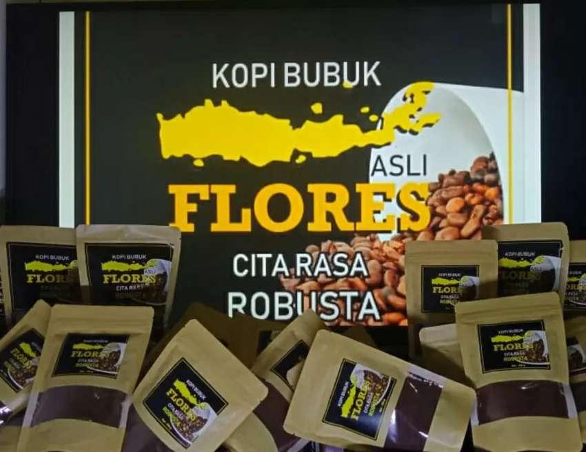 Kopi Flores Robusta 100 gram Bubuk 0