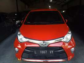 Toyota Calya 1.2 G 2016 Merah Merona Ciamikk