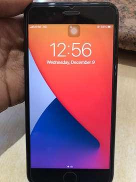 Iphone 7+ plus 128GB Jet Black