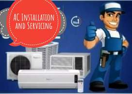 AC servicing and installation