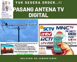 Gudang Antena Ahli Pasang Baru Antena Tv Digital Jangkauan Luas