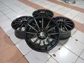 Jual Velg Racing Advan R18 H4x100/114, 3