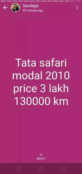 Tata Safari 2010 Diesel Good Condition